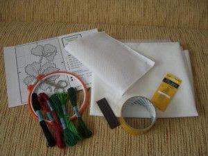 Основні інструменти, необхідні для вишивки хрестиком