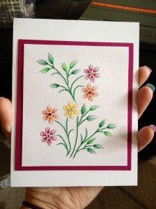 Вишиваємо листівку в подарунок