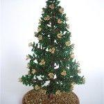 Майстер-клас плетіння різдвяного дерева з бісеру