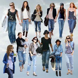Під що носити жіночі джинси Кельвін Кляйн