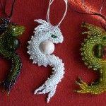 Майстер-клас з плетіння східного дракона з бісеру