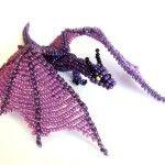 Майстер-клас плетіння дракона з бісеру