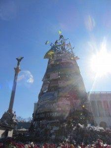 спорудження на честь загиблим на Евромайдане в києві