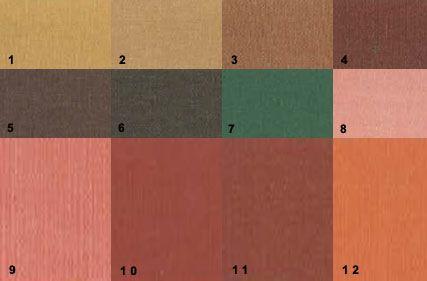 палітра кольорів для глибокого теплого колориту зовнішності