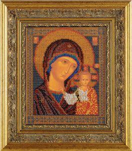 Вишита ікона Казанська Богородиця