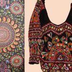 Стародавня індійська вишивка на одязі