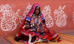 Індійська техніка вишивки