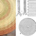 Плетений килимки своїми руками з ниток