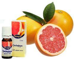ефірне масло грейпфрута