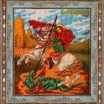 Ікона Георгій Побідоносець в рамці