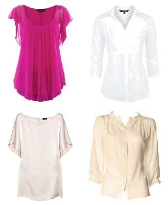 блузки для повних жінок