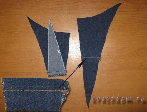 ремонт джинс покрокове фото16