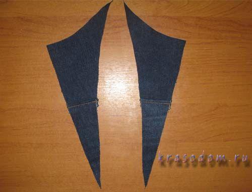 ремонт джинс покрокове фото17