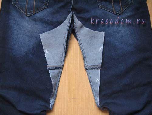 ремонт джинс покрокове фото20