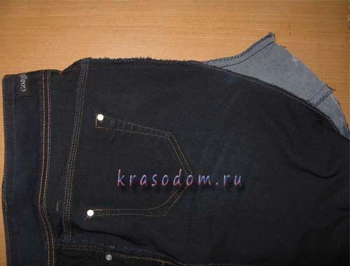 ремонт джинс покрокове фото24