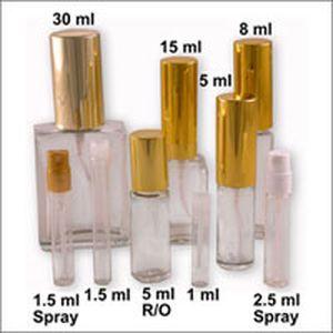 Маленькі флакони для парфумів