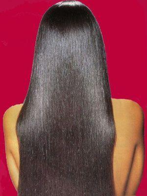 Як витягати волосся праскою