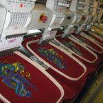 Масштабне виробництво вишивки на вишивальних машинах
