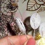 Майстер-клас плетіння пролісків з бісеру
