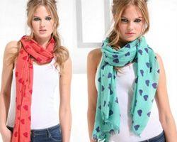 як зав'язати шарф