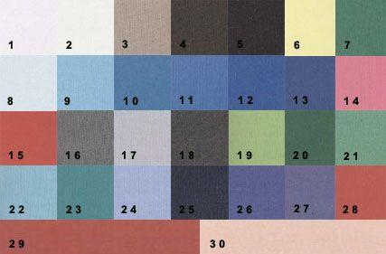 палітра кольорів для контрастного колориту зовнішності