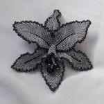 Майстер-клас плетіння брошки з бісеру у вигляді орхідеї