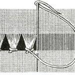 Шов пензлик в мережці