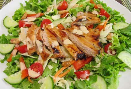 курячий салат