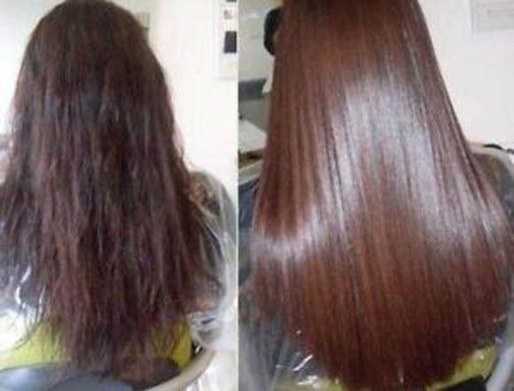 ламінування волосся