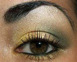 макіяж для карих очей