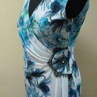 Літні сукні для повних