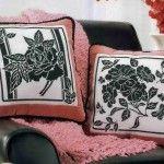 Блекворк на подушках