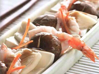 морепродукти з тофу