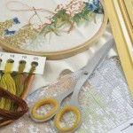 Матеріали та інструменти для вишивки хрестиком