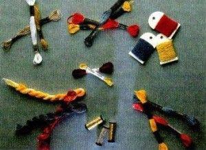 Різноманітність ниток для вишивання