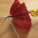 Майстер-клас плетіння гібіскуса з бісеру