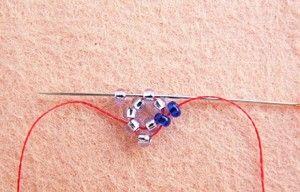 Плетіння музичного джгута з бісеру