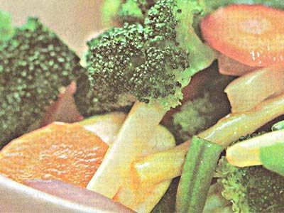 овочі з гострою заправкою