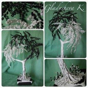 Плетіння манірно-білого дерева