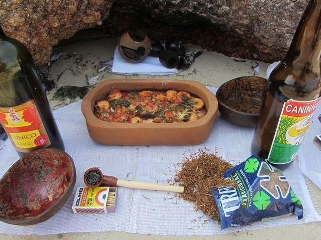 Жертовна їжа в ритуалах вуду