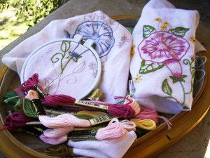 Матеріали для вишивки гладдю