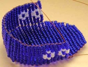 Плетемо боковинки коляски з бісеру