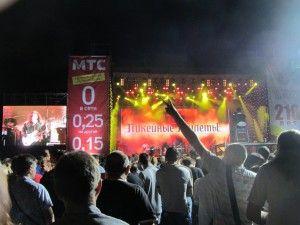Рок фестиваль в одесі, безкоштовний рок концерт.