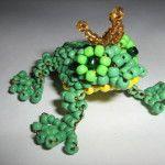 Царівна жаба з бісеру