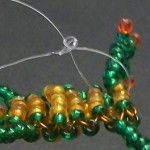 Майстер-клас з плетіння жаби з бісеру