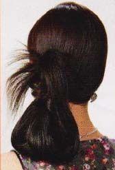 зачіска для довгого волосся