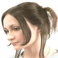 зачіска для волосся середньої довжини
