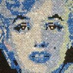 Вишита брілліатовой мозаїкою картина