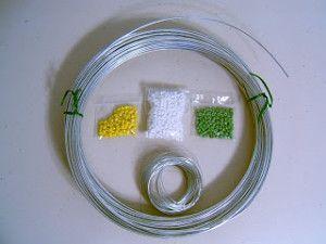 Матеріали для плетіння ромашки з бісеру