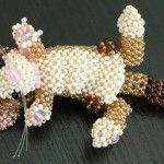 Майстер-клас плетіння котика з бісеру